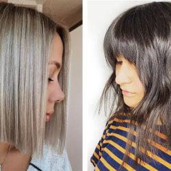 Стильная стрижка боб на короткие волосы — фото
