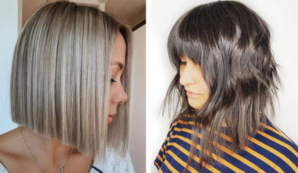 Стильная стрижка боб на короткие волосы