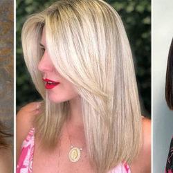 Модные стрижки на средние волосы — ТОП 2021