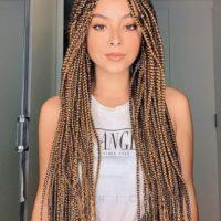 Афрокосички с канекалоном, нитками, на длинные, короткие волосы