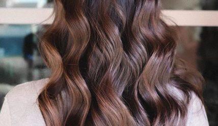 Балаяж на темные волосы 2021: средней длины, короткие, длинные, прямые