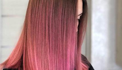 Розовый цвет волос: пепельный, нежный, яркий, светлый, краска